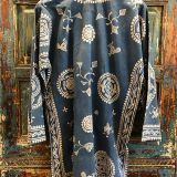 Batik Tunic made from southeast asian textiles by Dancing Ladies in Santa Fe New Mexico