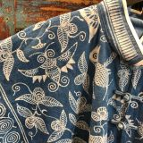 Batik Jacket made from southwest Chinese textiles by Dancing Ladies in Santa Fe New Mexico