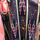 Baule Jacket made from West African textiles by Dancing Ladies in Santa Fe New Mexico