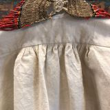 French work shirt made from textiles from France by Dancing Ladies in Santa Fe New Mexico