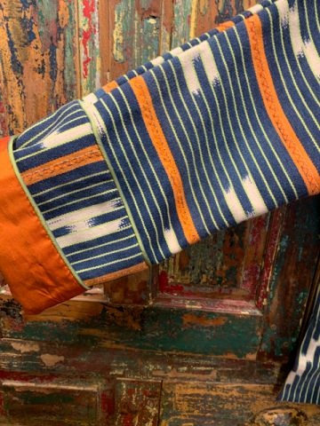 Orange-West-Africa-Baule-Jacket-Sleeve